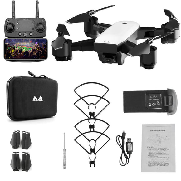 C-FLY Dream 5G Altitude Hold Drone GPS Optical Flow Positioning Follow Me RC Quadcopter with 720P HD Camera One Key Return