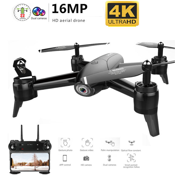 Professio WiFi FPV RC Drone 4K Camera Optical Flow 1080P HD Dual Camera Aerial Video RC Quadcopter Aircraft Quadrocopter Toys