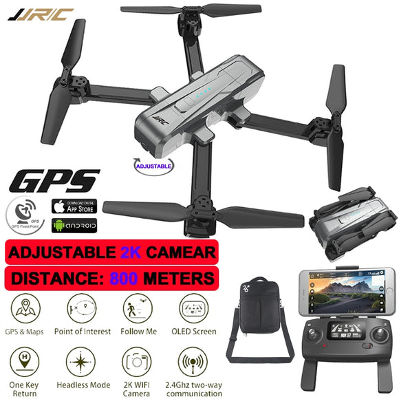GPS Drone Gps Quadrocopter 800 Meters Distance 2K Camera Set Point Fly Global Positioning Professional Rc Quadcopter With Camera