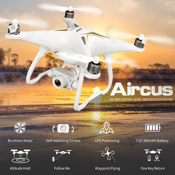 JJRC X6 GPS Drone Brushless Professional 5G Follow Me WiFi Fpv 1080P HD camera VS Selfie Rc Quadcopter Camera Drone VS F11 SG906