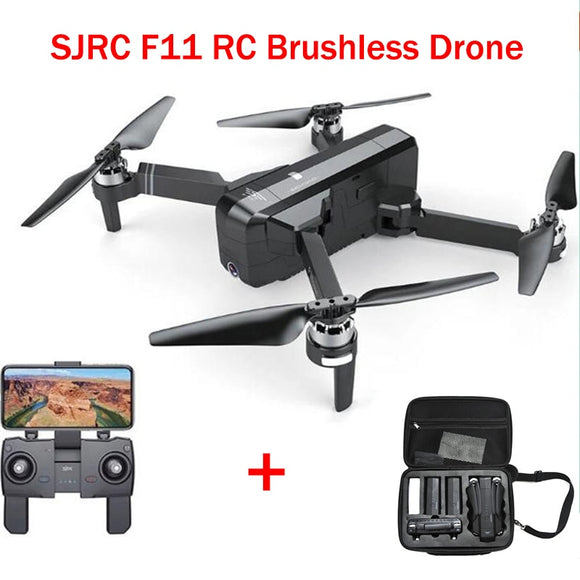 LeadingStar SJRC F11 GPS 5G Wifi FPV With Angle HD Camera High Hold Mode 1080P Camera Brushless Selfie RC Drone Quadcopter