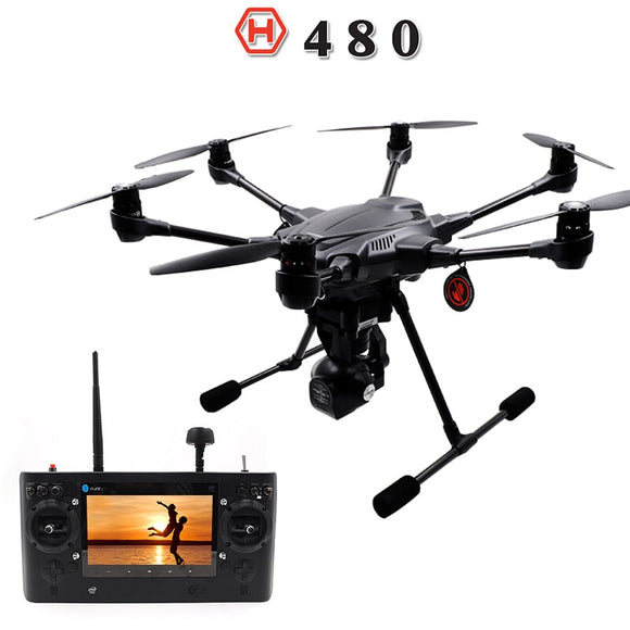 YUNEEC Typhoon H480 Drone Quadcopter with CGO3 Gimbal 4K-Resolution HD Camera