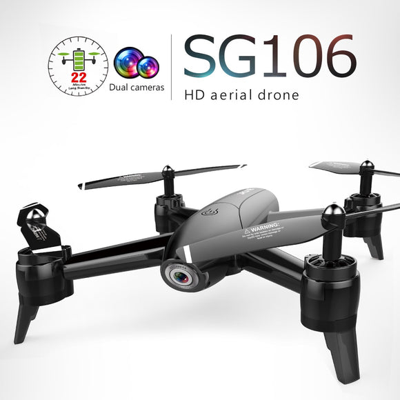 4K SG106 RC Drone with Camera HD 1080P 720P Dual mini helicopter remote control small drone follow me RC Quadcopter Aircraft