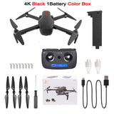 LAUMOX W10 Drone GPS 5G WIFI FPV With 4K HD Camera Brushless Selfie Foldable RC Quadcopter Dron Vs ZLRC Beast SG906 CG033 F11