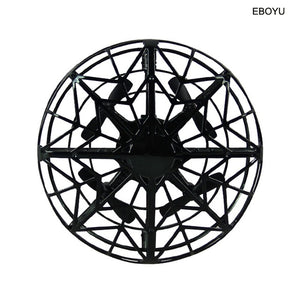 EBOYU K36 UFO Flying Ball Toys Gravity Defying Hand-Controlled Suspension Helicopter Toy Infrared Induction Interactive Drone