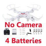 X5C FPV Selfie Drones With Camera HD Quadrocopter Profissional Quadcopter Dron Toys For Children Remote Control Rc Helicopter