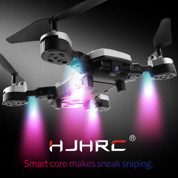 HJ28 720P/1080P RC Drone Helicopter Pressure Fixed Height Folding Four-axis Drone Real-time Drone Remote Control Aerial Aircraft