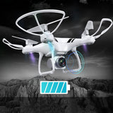 2019 KY101S 360 Degree Roll Camera Drones 6-Axis Gyro Quad-rotorcraft Flight With HD Wifi FPV 20min Flying Time Altitude Hold