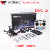 Original Walkera Runner 250 PRO + DEVO 10 GPS RC Racing Quadcopter Drone with 800TVL/1080P Camera/OSD/GPS/DEVO10 Transmitter RTF