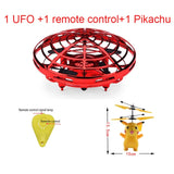 KaKBeir Mini UFO Drone Toys Infrared Sensing Control Interactive Aircraft Gesture Induction Controlled Altitude Hold Quadcopter