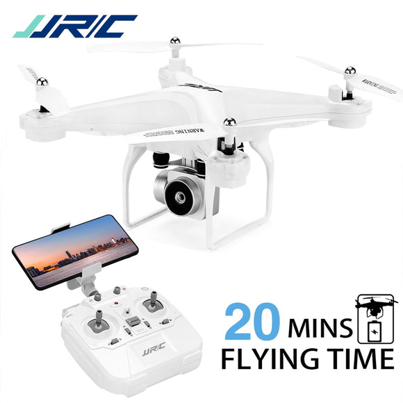 20 Mins Flying FPV Drone , JJRC H68 RC Drone with 720P HD Camera WIFI Live Video Headless Mode Altitude Hold Quadcopter