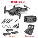 LAUMOX M69G FPV RC Drone 4K Camera Optical Flow Selfie Dron Foldable Wifi Quadcopter Helicopter VS VISUO XS816 SG106 SG700 X12