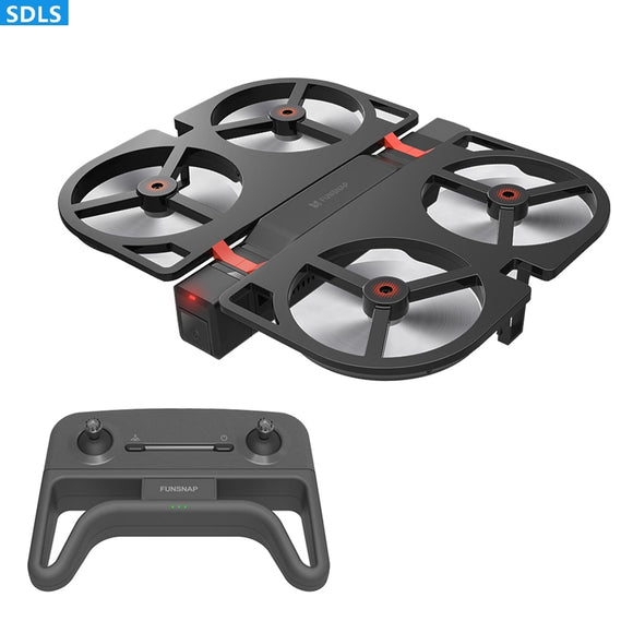 iDol 1080P WIFI FPV Camera 2.4G Foldable RC Drone GPS Quadcopter GPS Follow Me Set Height Hover APP Control Gesture Recognition