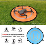 55cm Fast-fold Landing Pad Universal FPV Drone Parking Apron Foldable Pad For DJI Spark Mavic Pro FPV Racing Drone Accessory