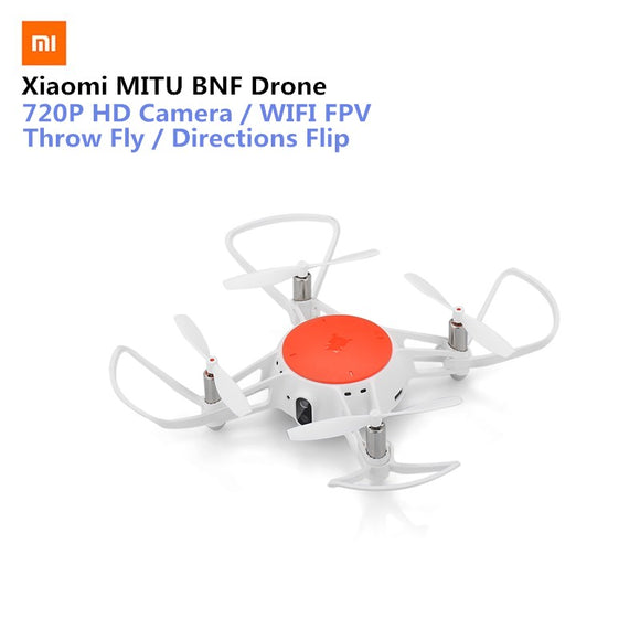 Original Xiaomi MITU WIFI FPV 360 Tumbling RC Drone With 720P HD Camera Multi-Machine Infrared Battle Camera Drone- BNF Version