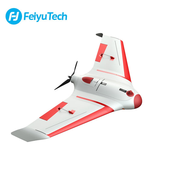 FeiyuTech new fixed wing Unicorn uav drone plane solution with data transfer 80km for aerial surveying and mapping