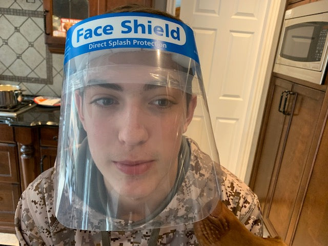FS-01 Non-Medical FACE SHIELD Antifog PET 330 mm x 220 mm - FREE SHIPPING IN CANADA