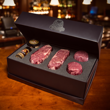 Load image into Gallery viewer, New York & Filet Mignon Prime Steak Gift Box