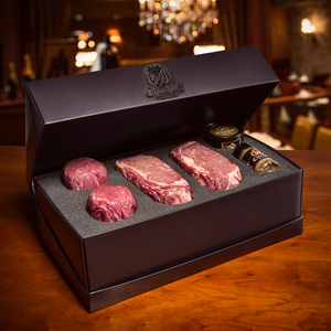 Ribeye & Filet Mignon Prime Steak Gift Box