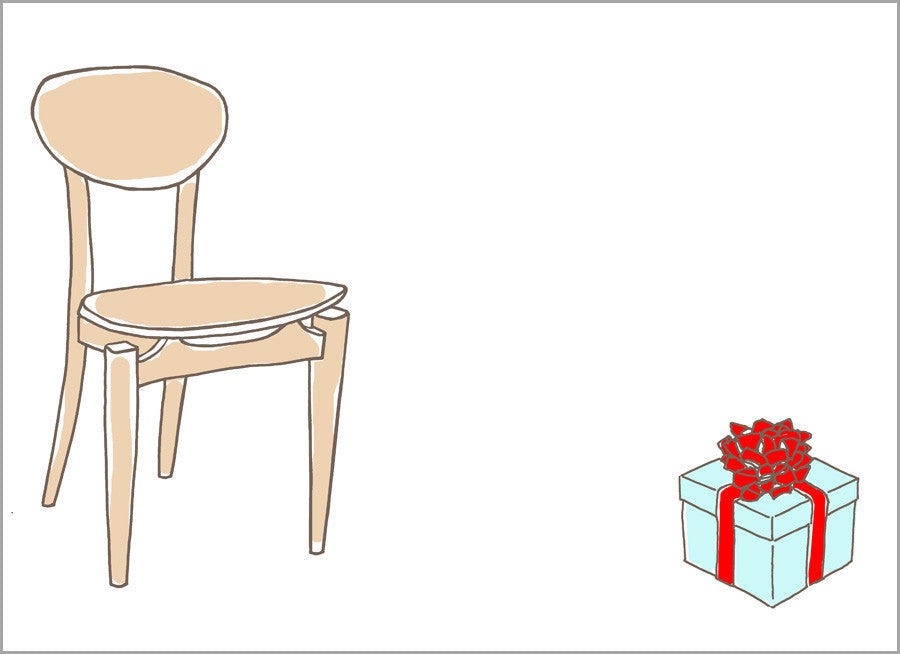 Chair with Present