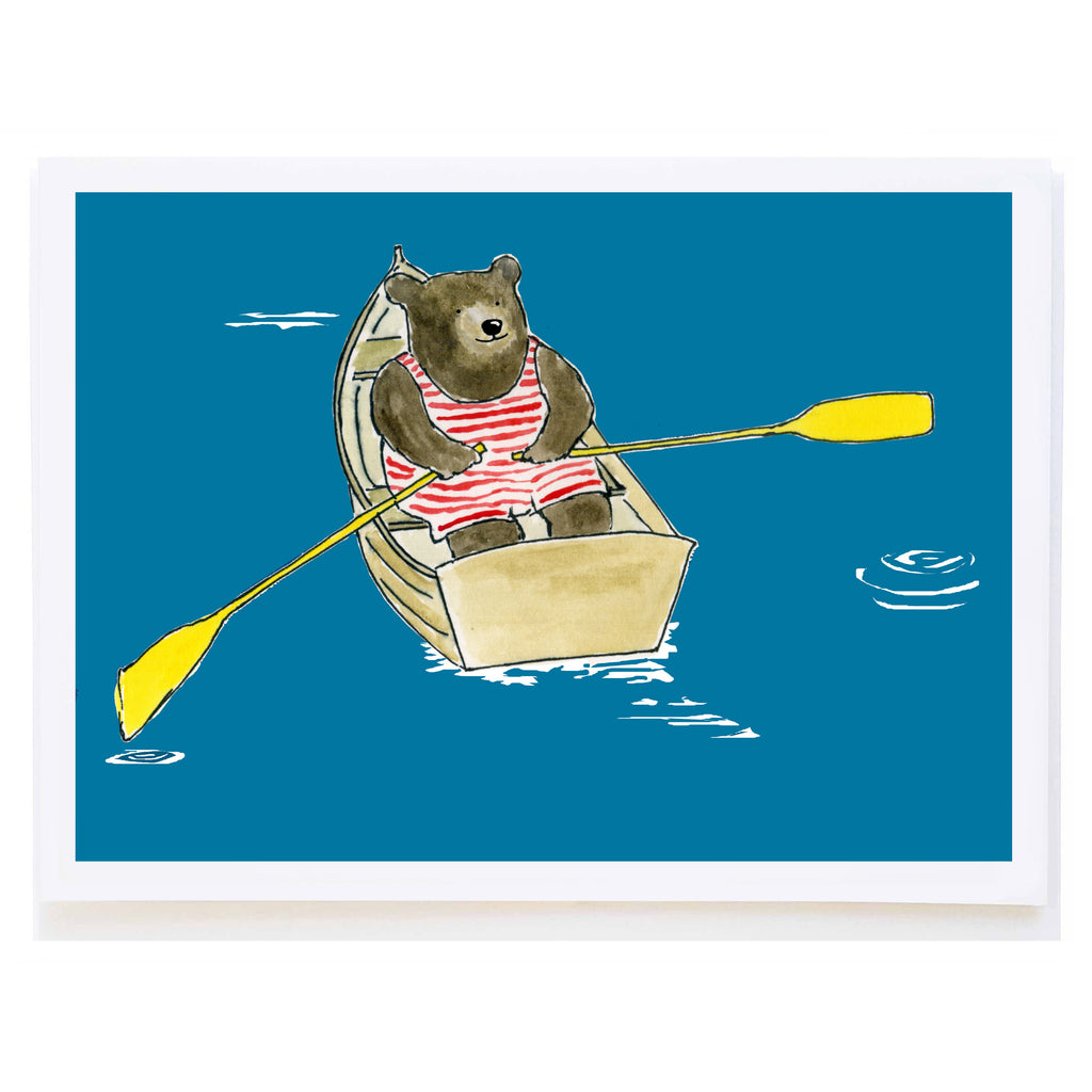 Bear in Rowboat