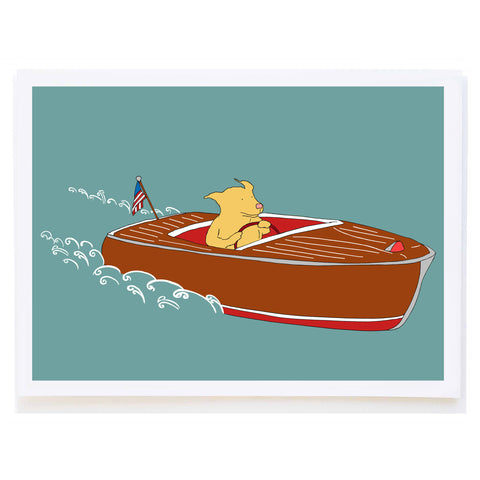 Speedboat Dog