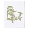 adirondack chair illustration
