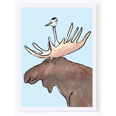 Chickadee and Moose