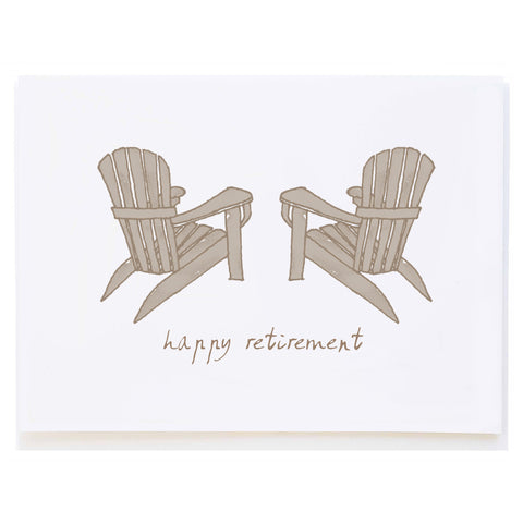 Adirondack Chairs Retirement