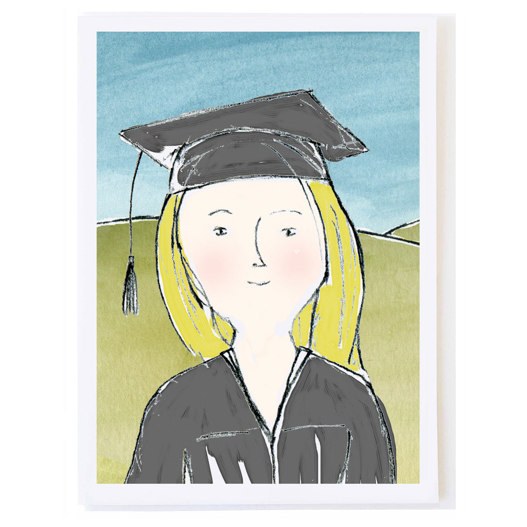 Cap and Gown Girl