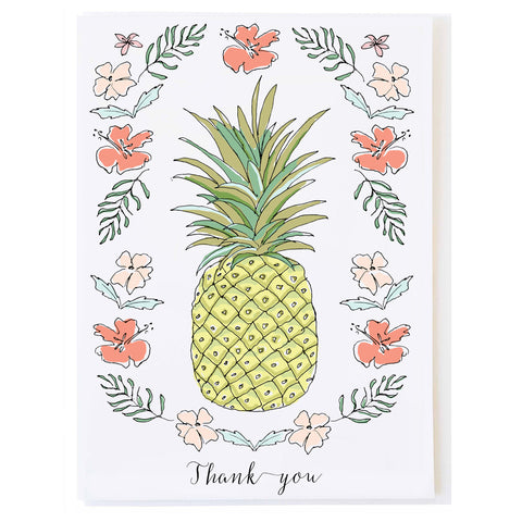 Pineapple Thank you