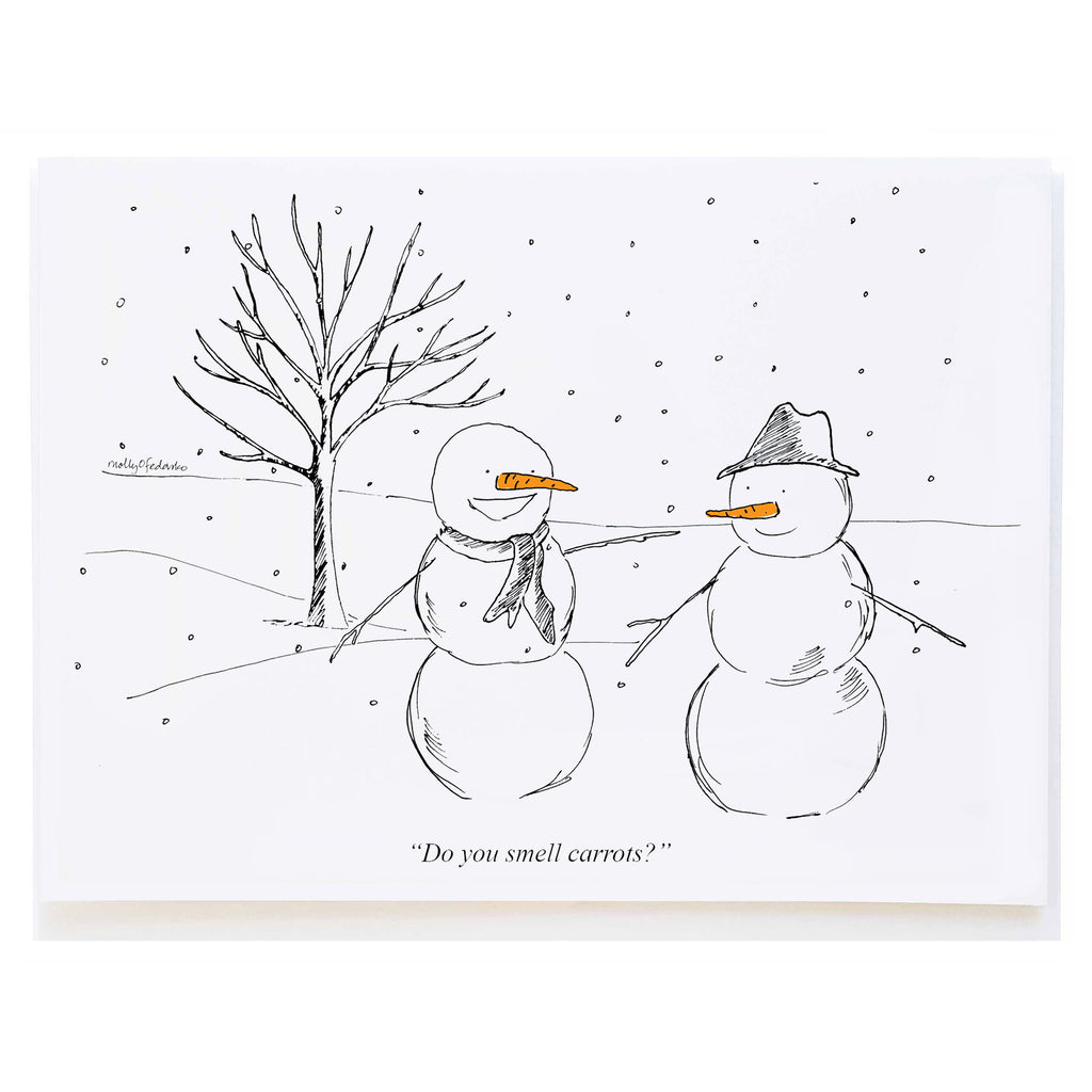 Snowmen Talking