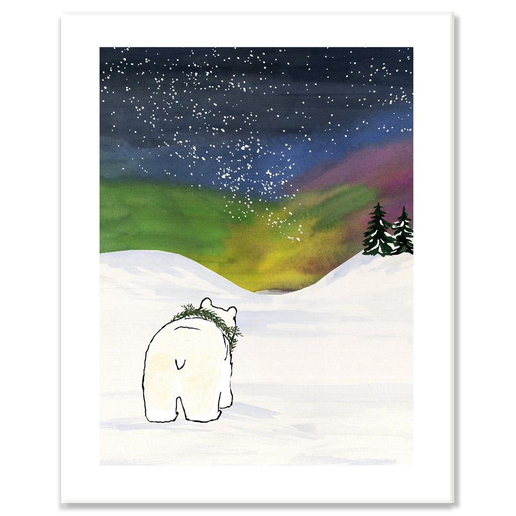 Northern Lights Print