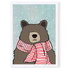 Bear Striped Scarf