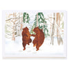 Dancing Bears in Snow