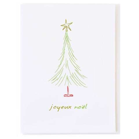 Joyeux Noël (small card)