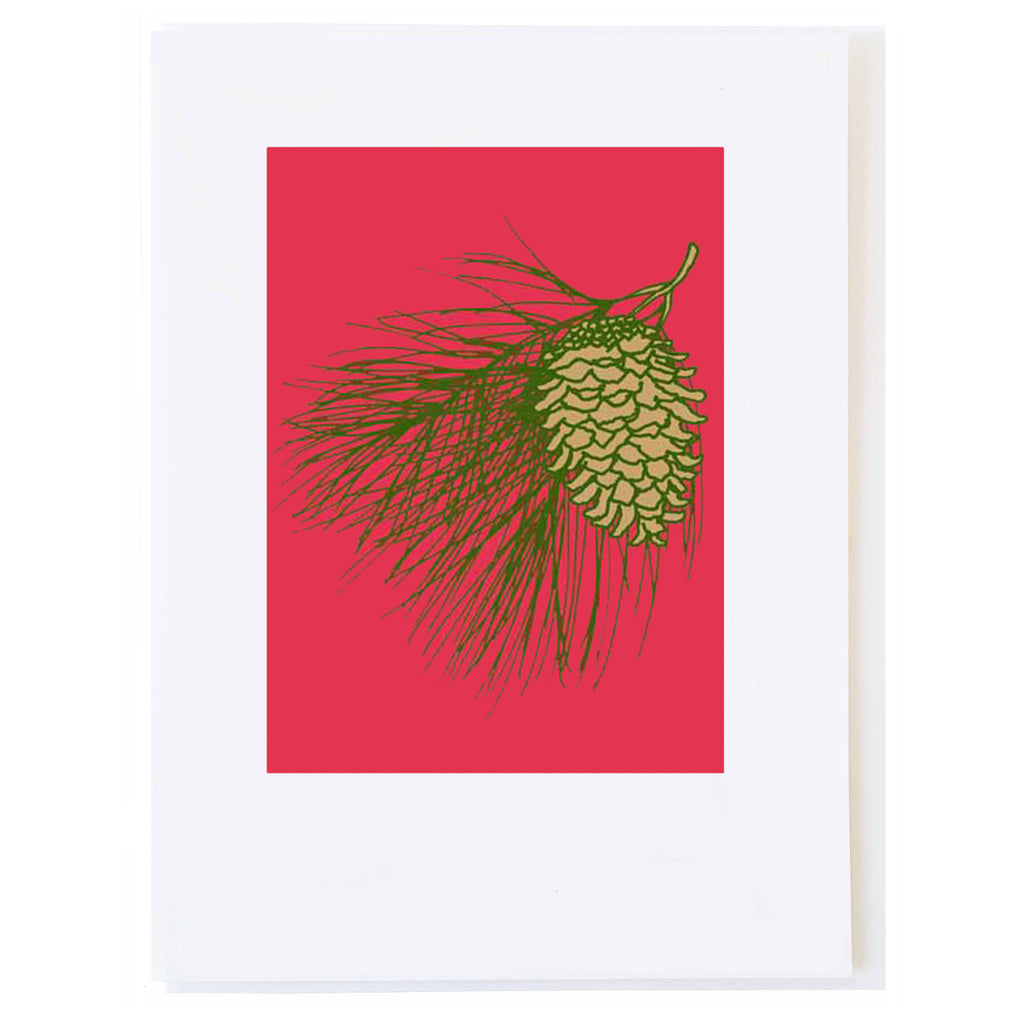 Red Pine (small card)