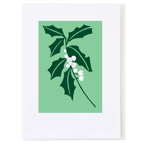 White Holly (small card)