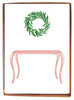 Wreath and Table
