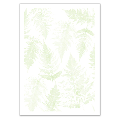 Fern Print Invitation