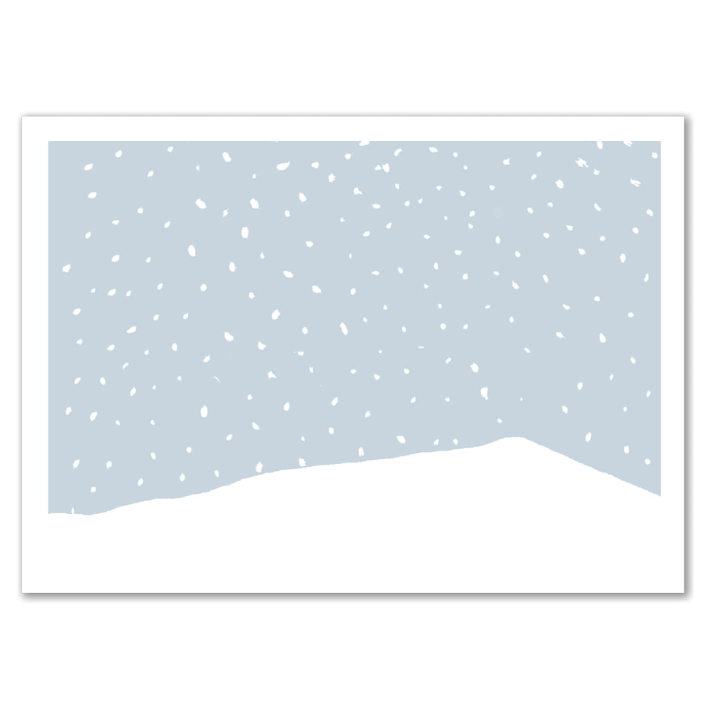 Snowy Scene Invitation