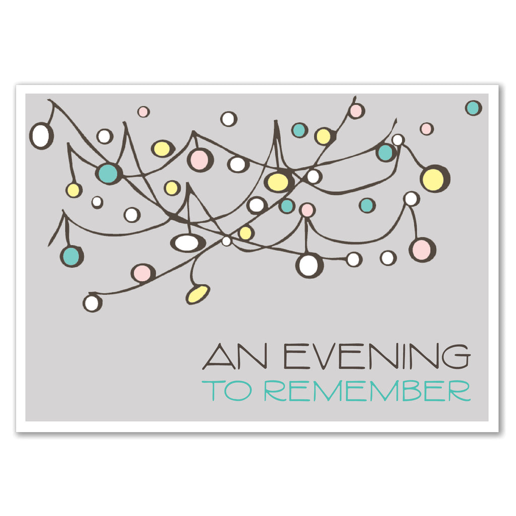 String of Lights Invitation