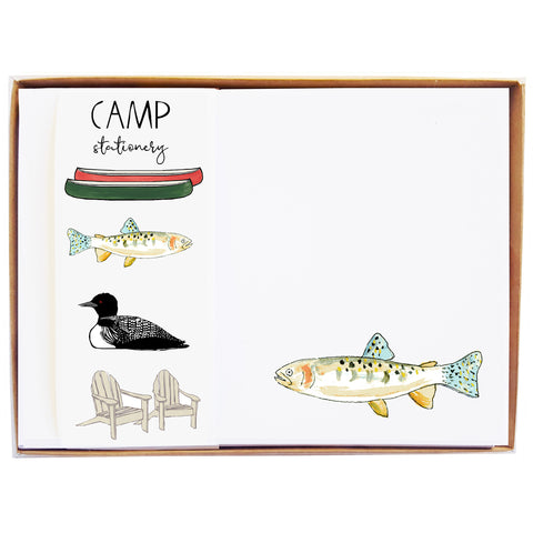 Camp Stationery
