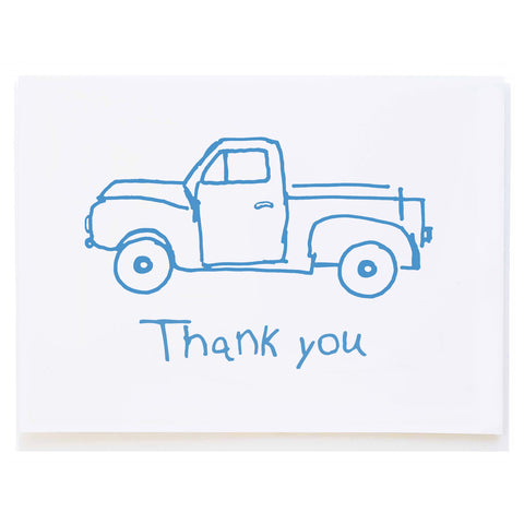 Blue Truck Thank You
