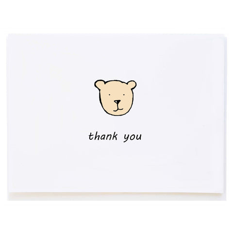 Bear Thank You (small card)