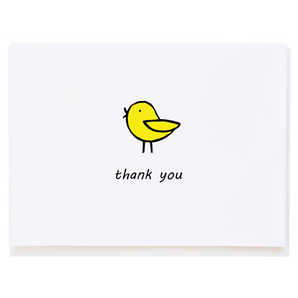 Bird Thank You (small card)