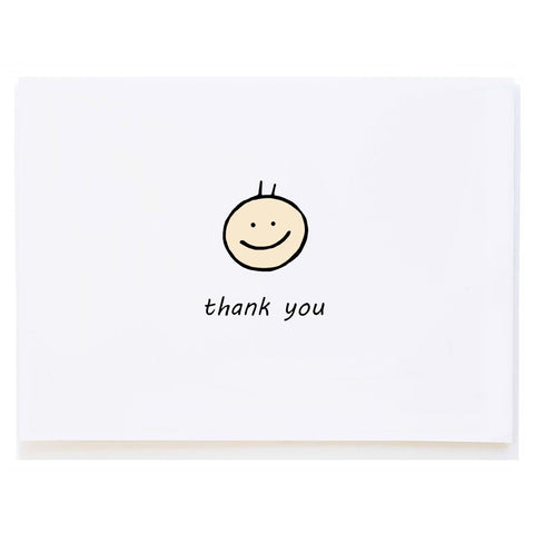 Baby Boy Thank You (small card)