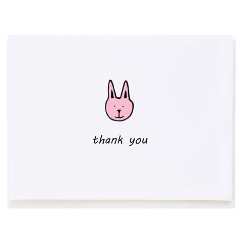 Bunny Thank You (small card)