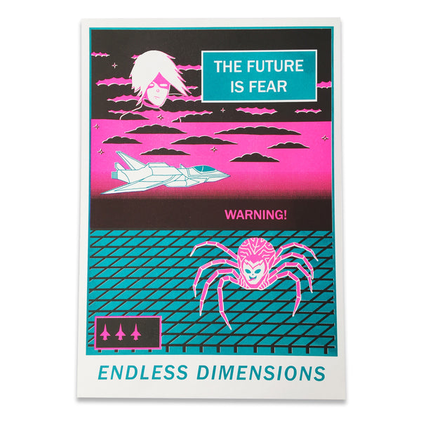 ENDLESS DIMENSIONS riso print