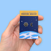 CELESTIAL BODIES pins